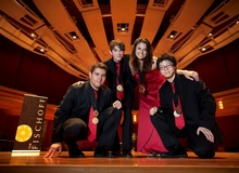 Old City String Quartet, 2010 Fischoff Grand Prize and Gold Medalist, Senior String Division