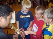 Angeles Sax Quartet, Madison Elementary, Wakarusa, IN